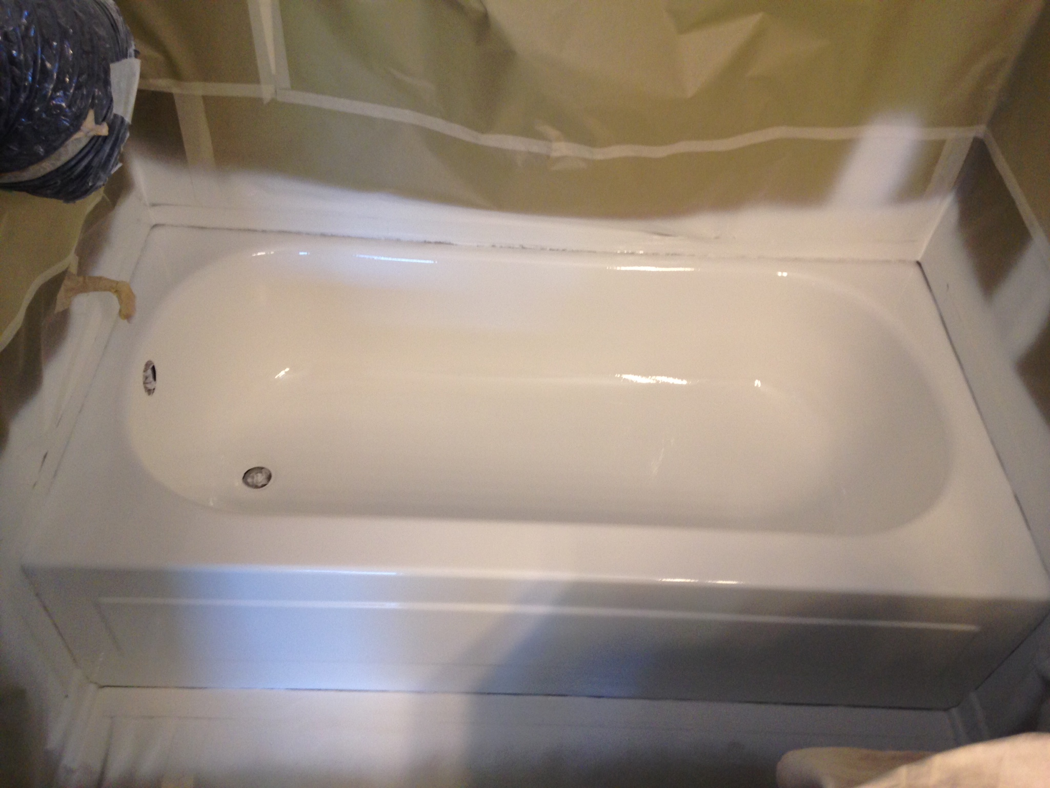 bathtub in refinishing county tub and resurfacing orange reglazing before